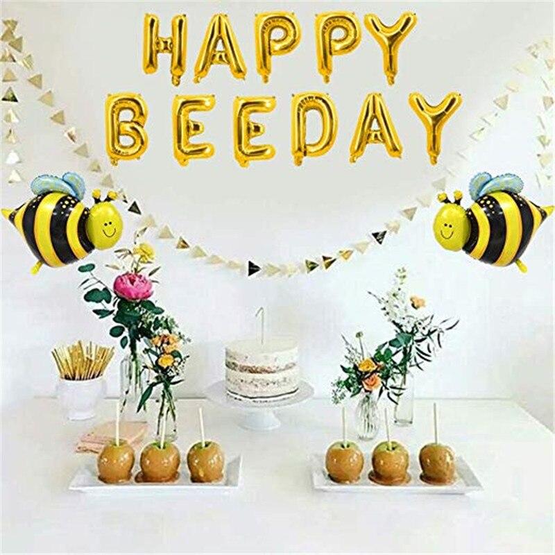 Mommy to bee decorações do chuveiro do bebê bumble bee conjunto de utensílios de mesa descartáveis crianças festa de aniversário decoração suprimentos crianças presente