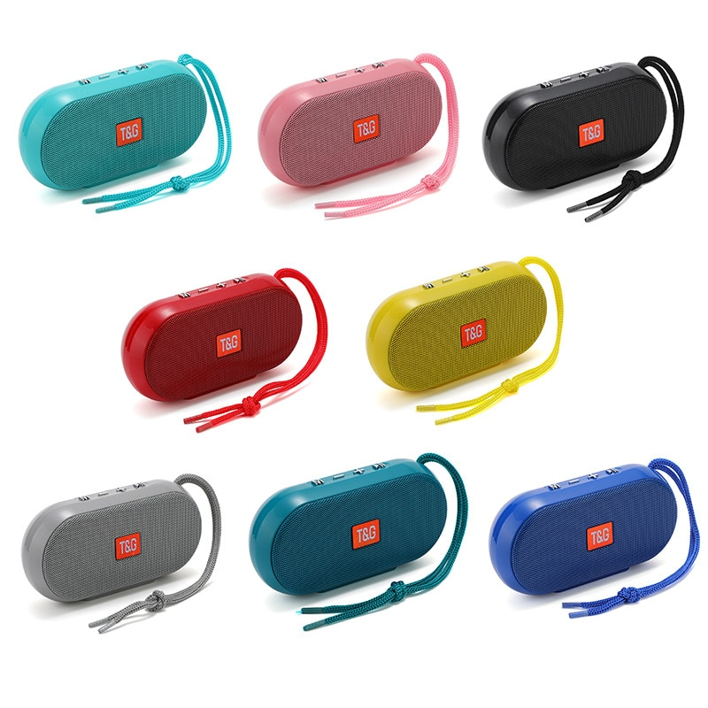 Minialtavoz Portátil con Bluetooth Radio FM bajo inalámbrico Radio USB altavoces estéreo...