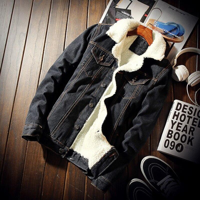 Фото - Мужская куртка и пальто, трендовая Теплая Флисовая Толстая джинсовая одежда, зимняя Модная Джинсовая Верхняя одежда 2021, мужская Ковбойская ... scout джинсовая верхняя одежда
