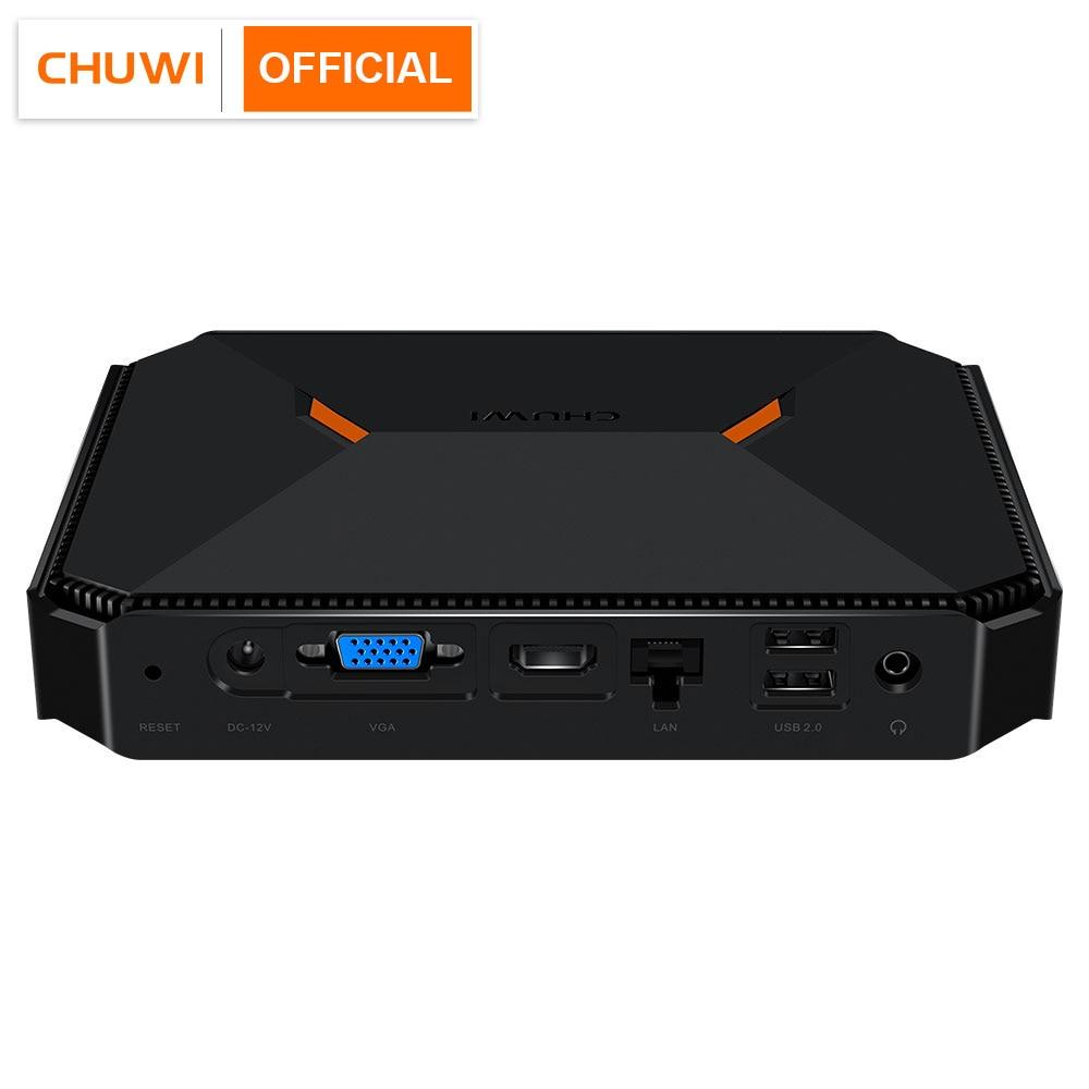 CHUWI Herobox Mini PC Intel Gemini-Lake N4100 Quad Core LPDDR4 8GB 256G SSD  Windows 10 Operating System wtih HD LAN VGA Port
