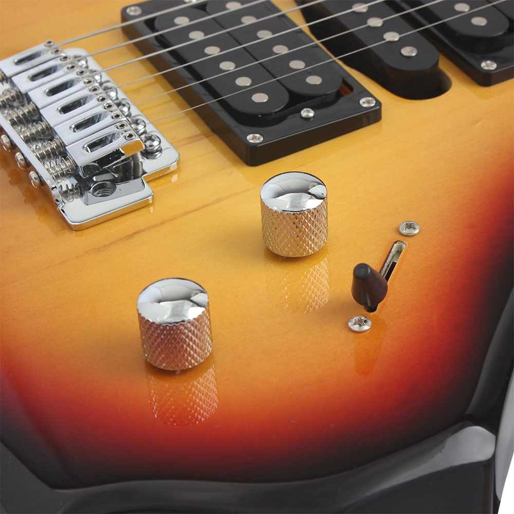 24 Frets 6 Strings Electric Guitar Maple Body Electric Guitar Guitarra With Bag Speaker Necessary Guitar Parts & Accessories enlarge