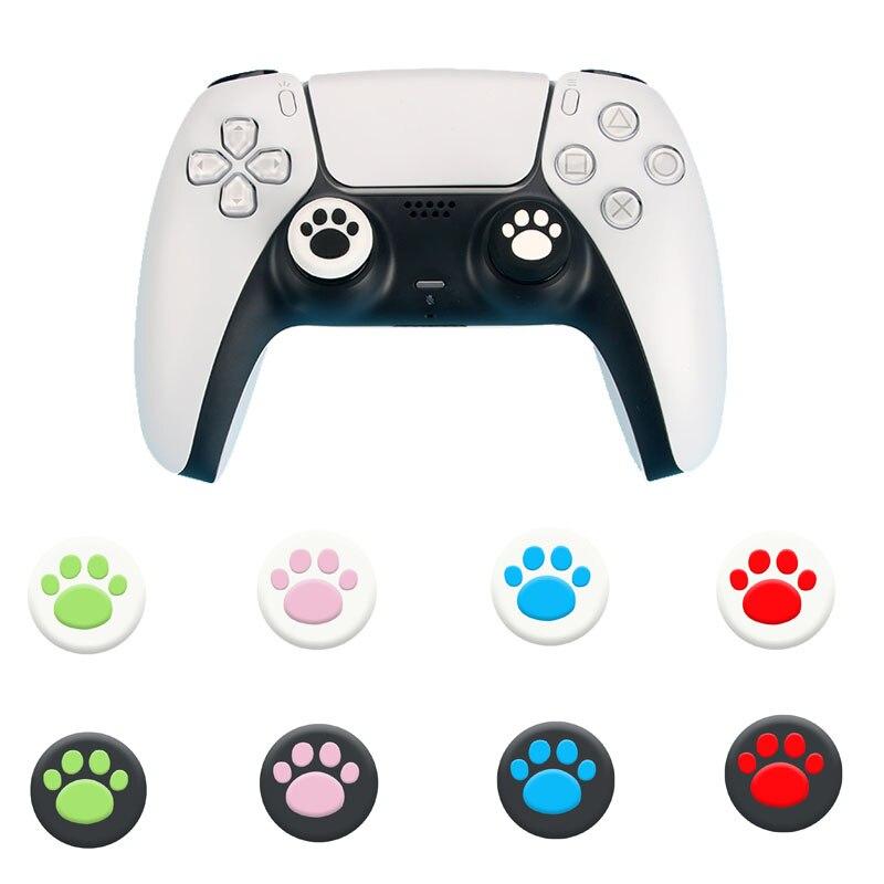 Thumb Stick de gato para Sony PS5 PS4 PS3 Slim Xbox 360/One...