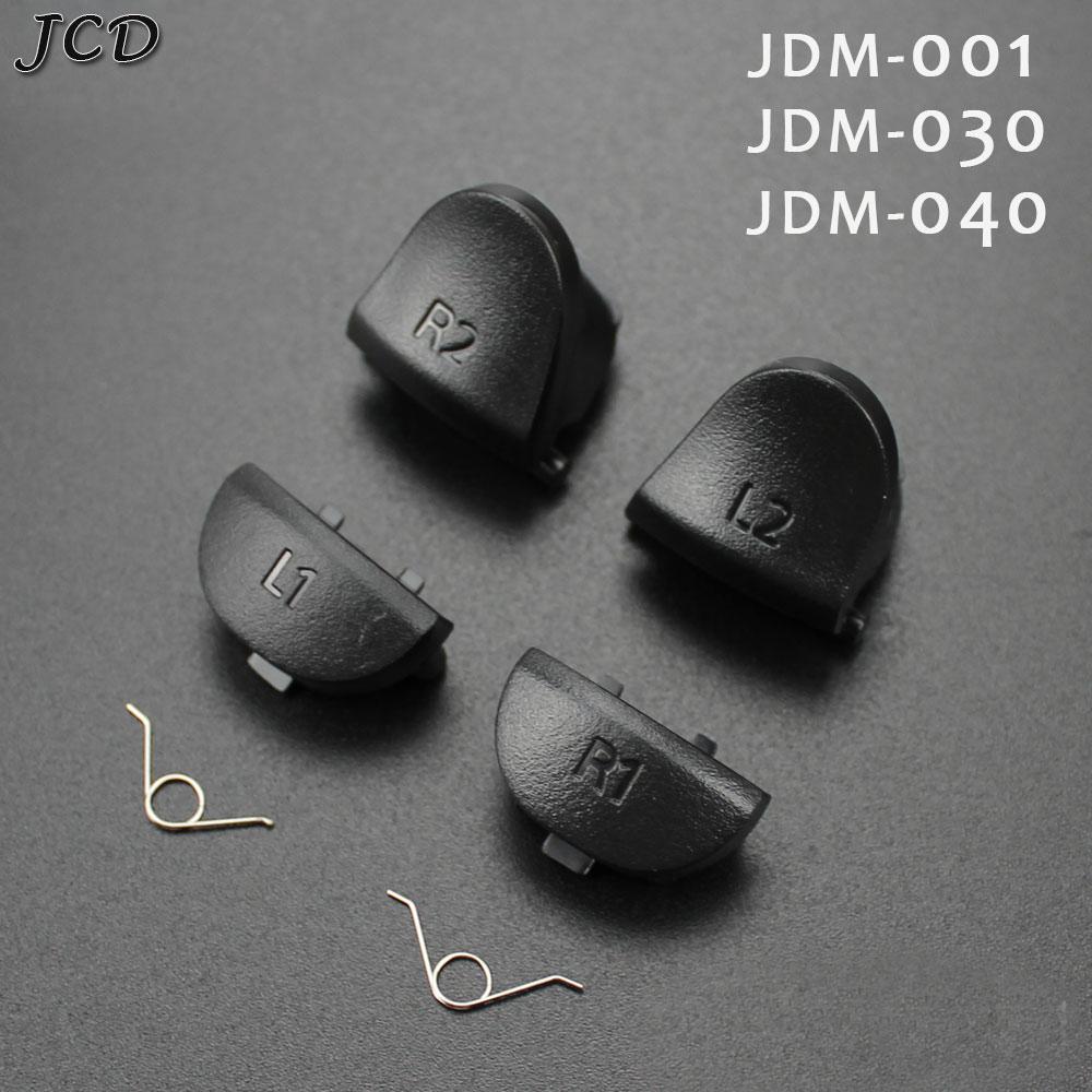 JCD L1 R1 + L2 R2 Кнопка триггера геймпад Замена пружин Запчасти для Sony PlayStation 4 PS4 JDM 001 011 030 040 контроллер