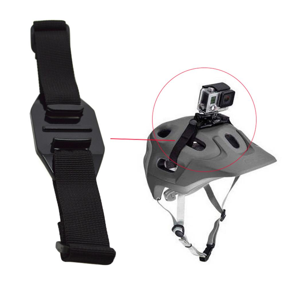 Adjustable Bicycle Sports Vented Action Camera Helmet Strap Mount Belt for GoPro Camera Action Video Cameras Accessories