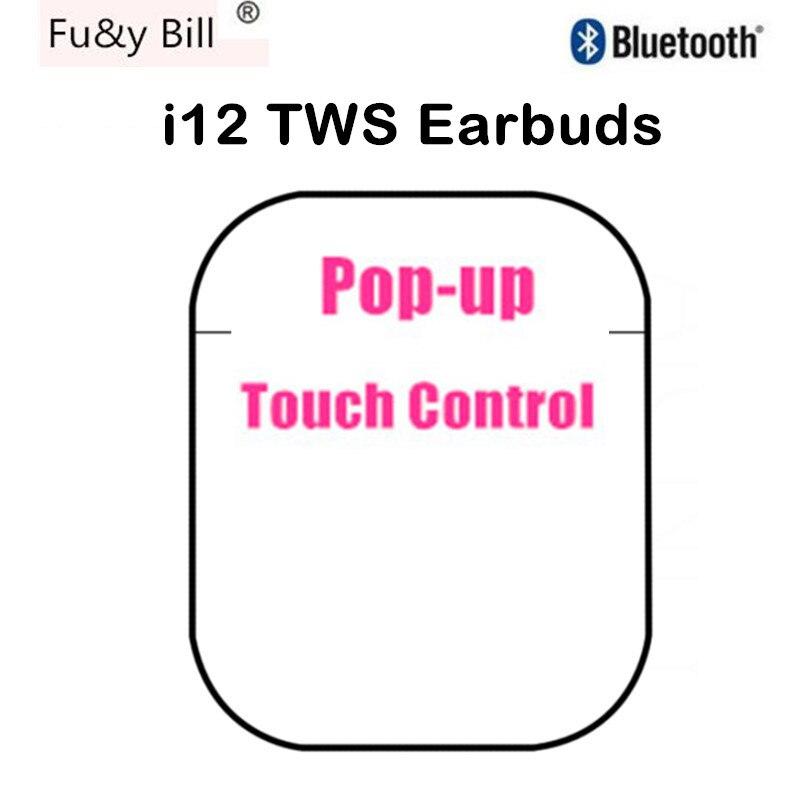 Fu & y Bill высокое качество I12 оригинальные TWS 1:1 Беспроводные Bluetooth 5,0 Super Bass Наушники Pk I500 для IPhone Android