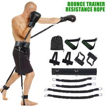 12Pcs Slimming Exercise Resistance Bands For Waist Leg Bouncing Training Home Gym Elastic Band Pull Rope Set for Men Women
