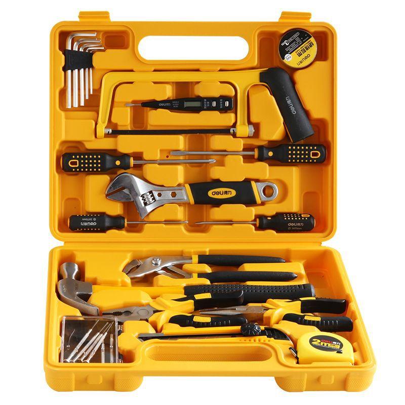 Домашний Ящик для инструментов, органайзер, дорожный стальной ящик для инструментов, металлический ящик для хранения, большой ящик для инст...