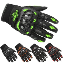 Motorcycle Gloves Breathable Full Finger Racing Gloves Outdoor Sports Protection Riding Cross Dirt B