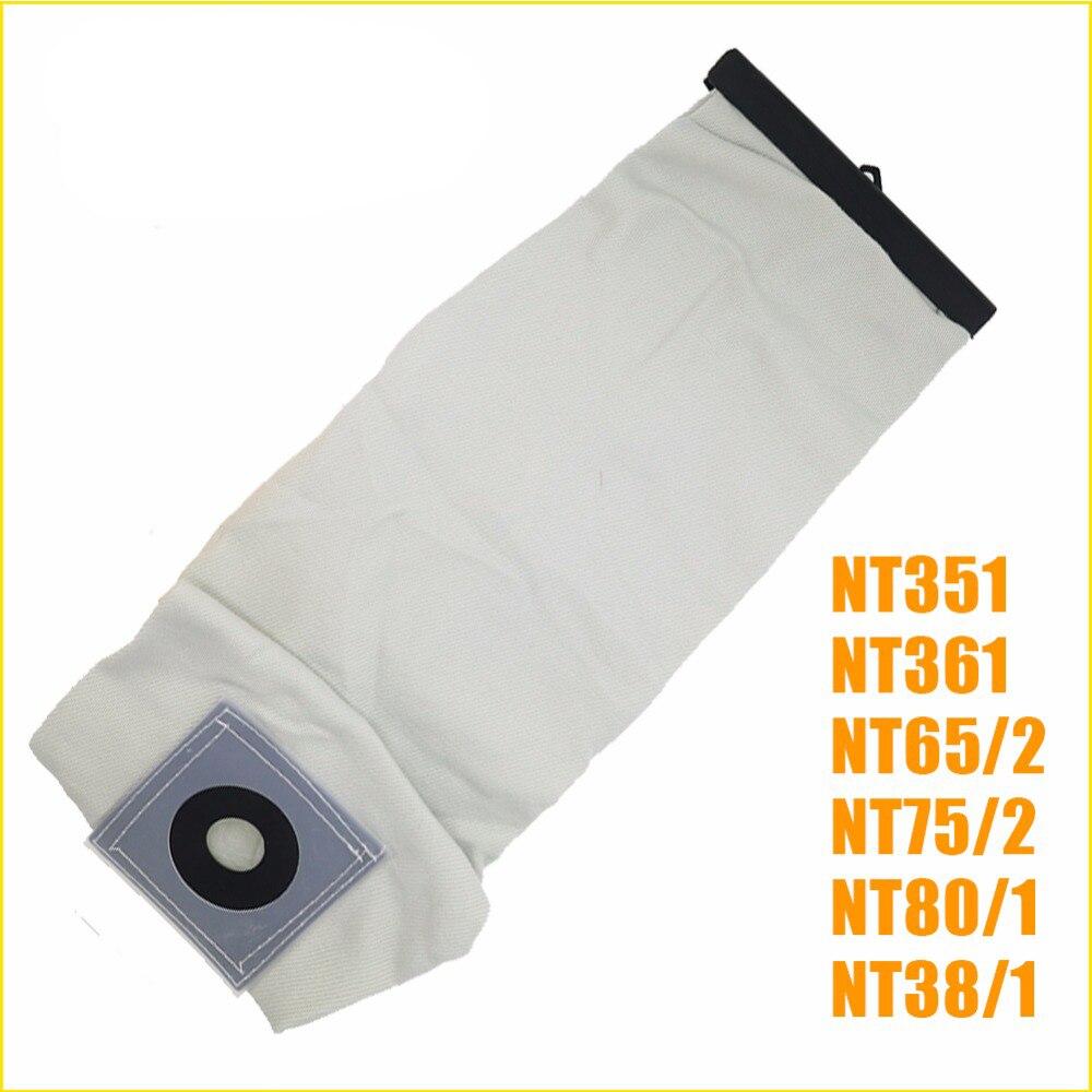 Высокое качество, моющиеся части пылесоса для KARCHER, тканевые мешки для пылесосов NT351 NT361 NT65/2 NT75/2 NT80/1