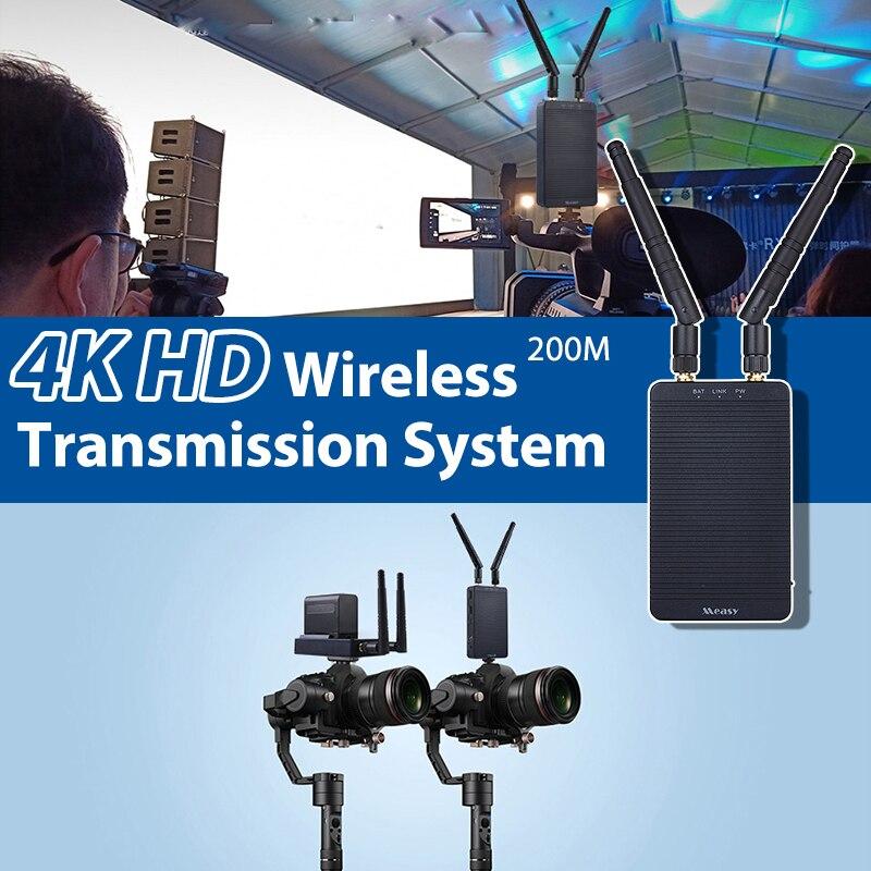 Measy Tour-جهاز إرسال واستقبال لاسلكي 5G لكاميرا Vlog ، جهاز نقل متوافق مع HDMI ، 4K ، HD ، 656 قدم ، T1