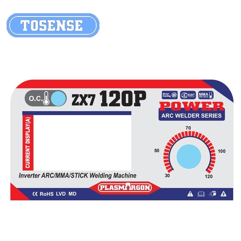 PLASMARGON IGBT MMA ARC Welder Machine 220V 120A Welding Machine Soldering Inverter ARC ZX7 120P enlarge