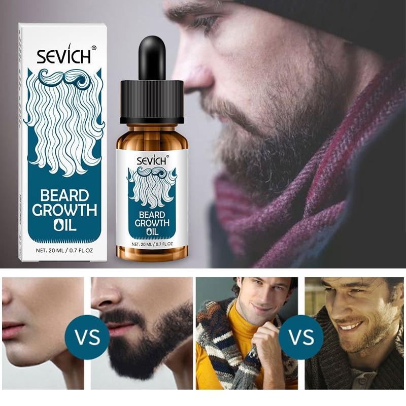 1 Pcs Beard Growth Product Natural Beard Essential Oils for Smooth Beard Oil Professional Growth Organic Beard Wax W1