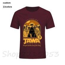 2020 hip hop Jawa droïde ventes Star Wars hommes T-Shirt camisetas jurassic park geek mortal kombat homme t-shirts une pièce t-shirts