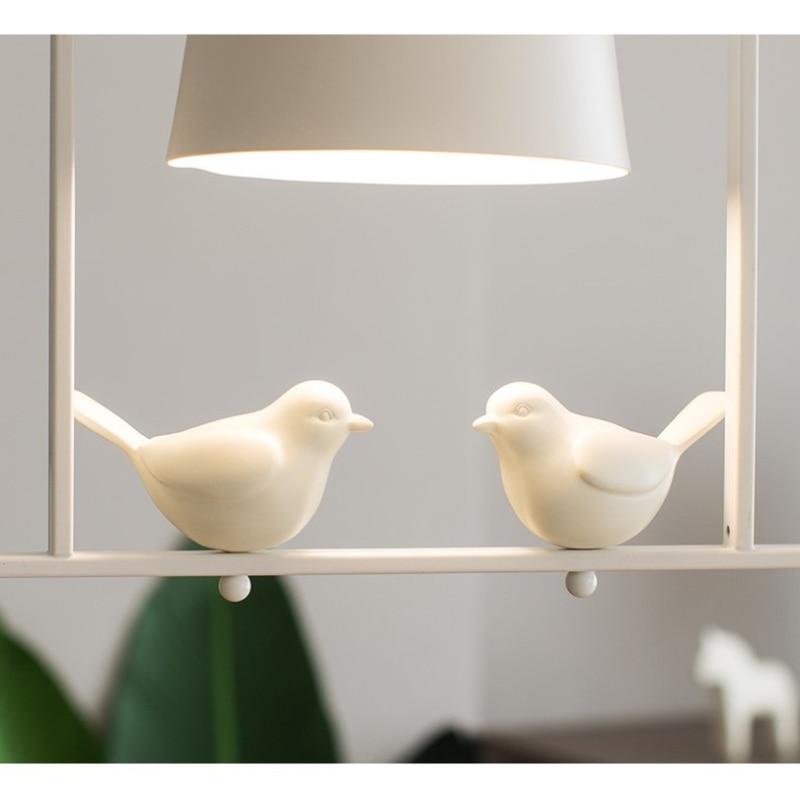 Minimalist Modern Pendant Lights Bird Lamp Restaurant Pendant Lamp Dining Table Bedroom Bedside Lamp Hanging Lights Fixtures E27 enlarge