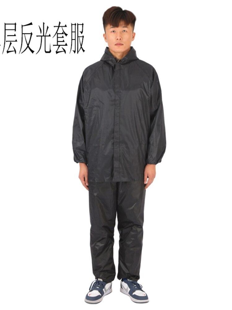 Men Outdoor Polyester Raincoat Jacket Suit Unisex Bike Raincoat Hiking Rain Poncho Impermeabile Donna Waterproof Poncho AG50YY enlarge