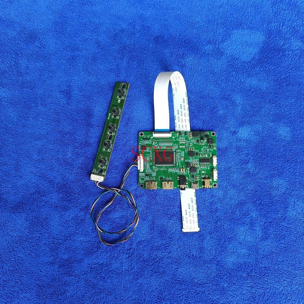 مصفوفة محرك تحكم مجلس HDMI-متوافق 2-Mini LED لتقوم بها بنفسك عدة مايكرو USB 5 فولت صالح HB133WX1-201/301/402 1366*768 30 دبوس eDP