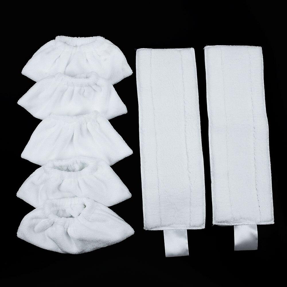 Couvercle de brosse en chiffon avec microfibre réutilisable   Pour KARCHER EASYFIX SC1 SC2 SC3 SC4 SC5, nettoyeur de vapeur pour nettoyage du sol à la maison