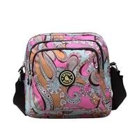 crossbody women canvas nylon outdoor waterproof shoulder bag female handbag messenger bags for lady crossbody bag large capacity
