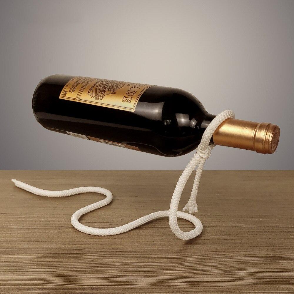 Rope Wine Rack