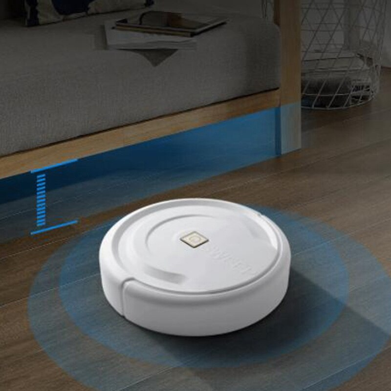 Robot aspirador doméstico eficiente para esquinas para suelo, limpiador de pelo de mascotas, limpiador de pelo de casa, eficiente