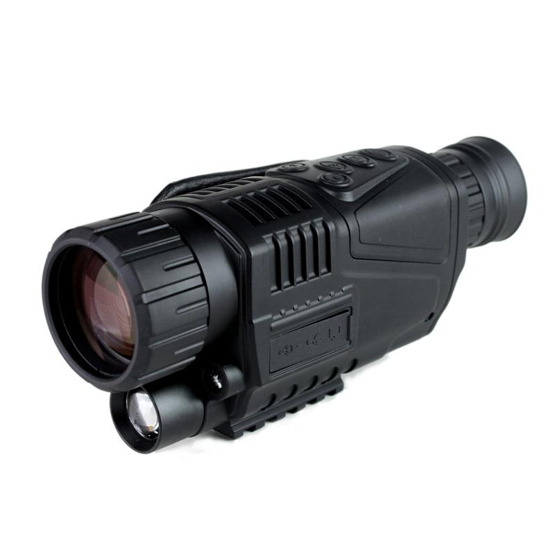 PDDHKK Digital Night Vision Hunting 5*40 Scope for Hunting Scouting game Monocular Night Vision 200m Distance