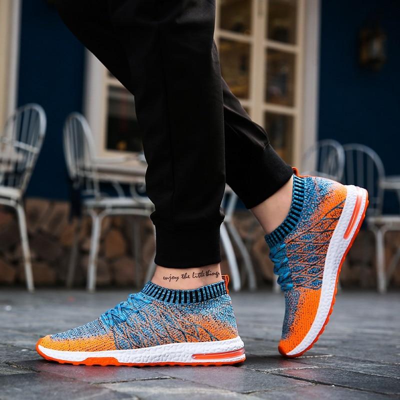 New Breathable Mesh Sneakers Men Casual Shoes Slip On Male Male Shoes Adult Fashion Men Shoes Walking Shoes Zapatos De Hombre
