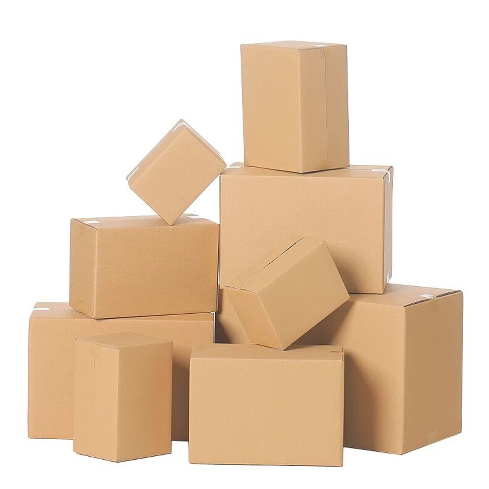 Cardboard Carton 3 or 5 Layer Corrugated Boxes Postal Boxes Heavy Duty Packing Cartons Shipping Moving House Express Box