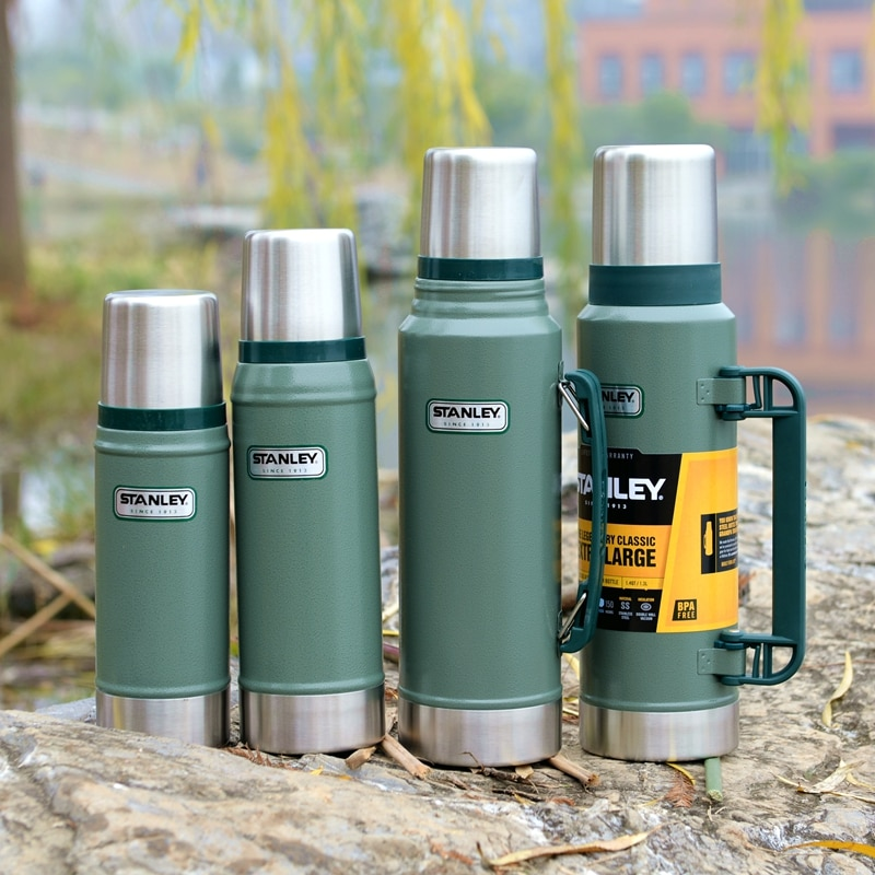 Thermos Cup Water Bottle Water Cup Classic Series Office Outdoor Vehicle Cup stainless steel Bottle