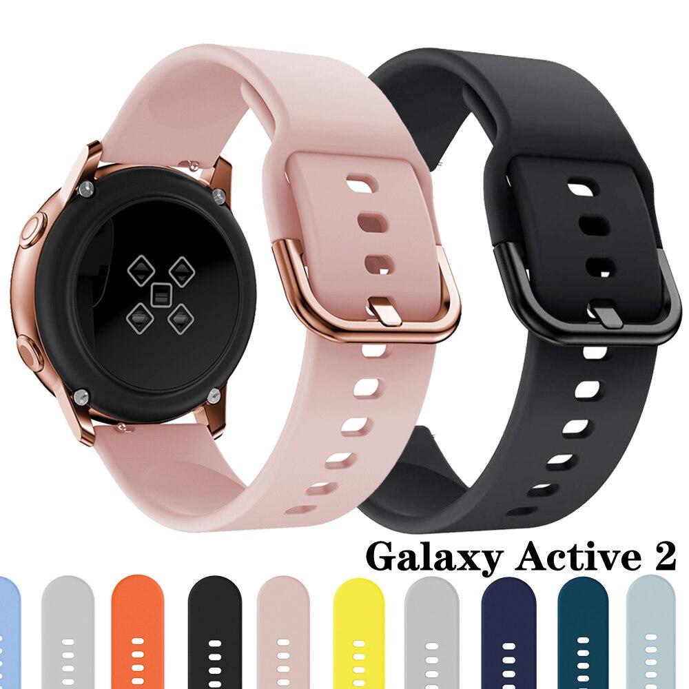 Correa para Samsung Galaxy Watch Active 2, banda de reloj deportiva de...