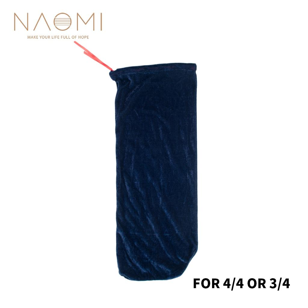 Сумка для скрипки NAOMI из атласной ткани, сумка для скрипки, одеяло для скрипки 4/4 3/4, винтажный защитный аксессуар для скрипки, темно-синий, Но...