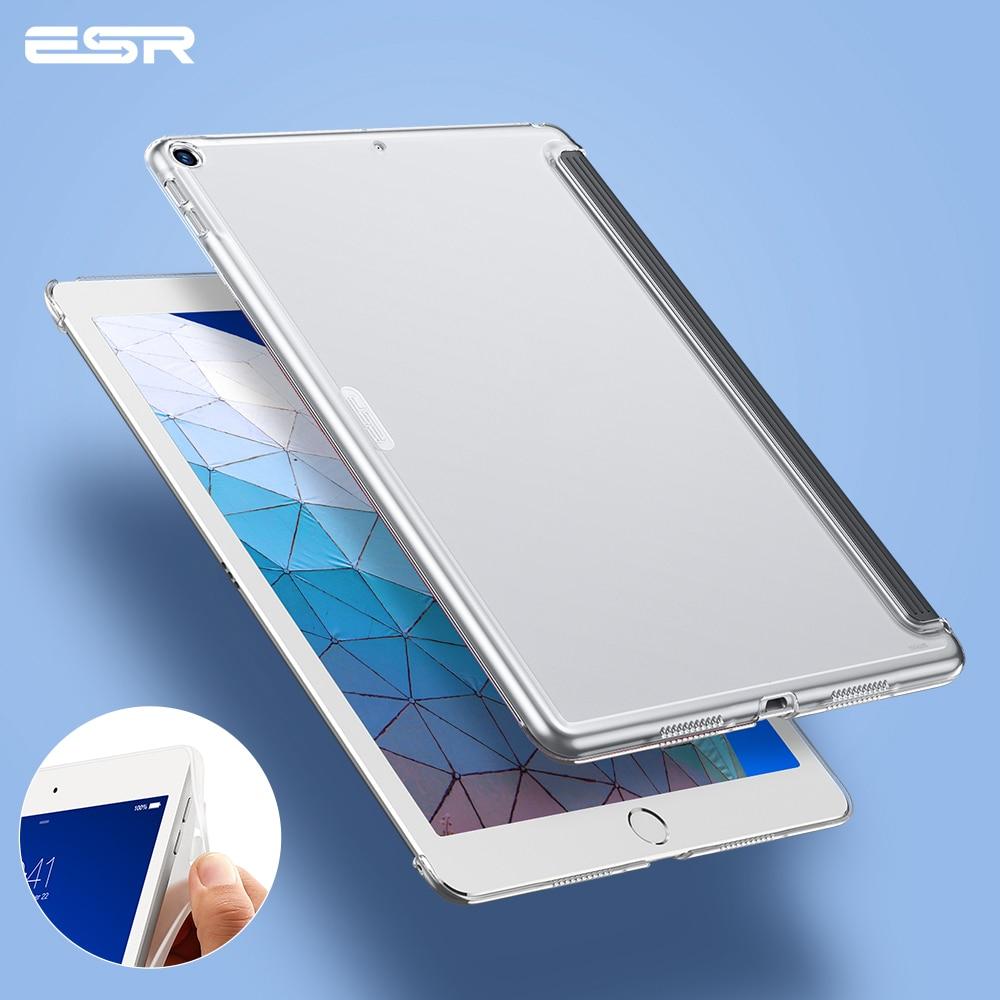 Чехол ESR для iPad Air 3, 2019, жесткий прозрачный жесткий чехол с Умной клавиатурой, тонкая задняя крышка для iPad Air 3, 2019, 10,5