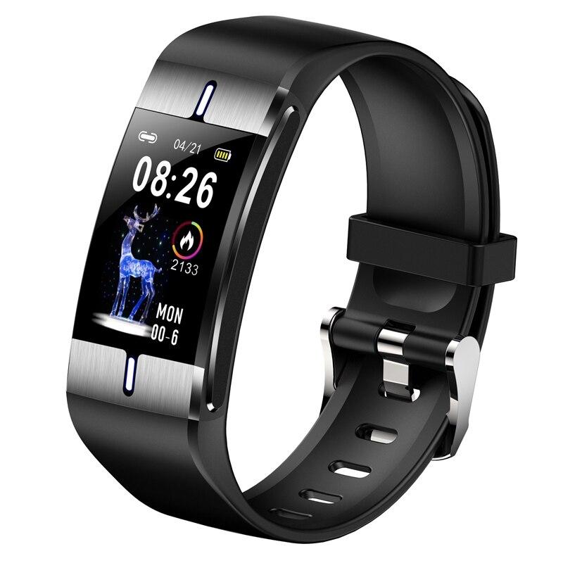 Reloj inteligente para Android e IOS, reloj inteligente deportivo con control del ritmo cardíaco, de la presión sanguínea y predicción del tiempo