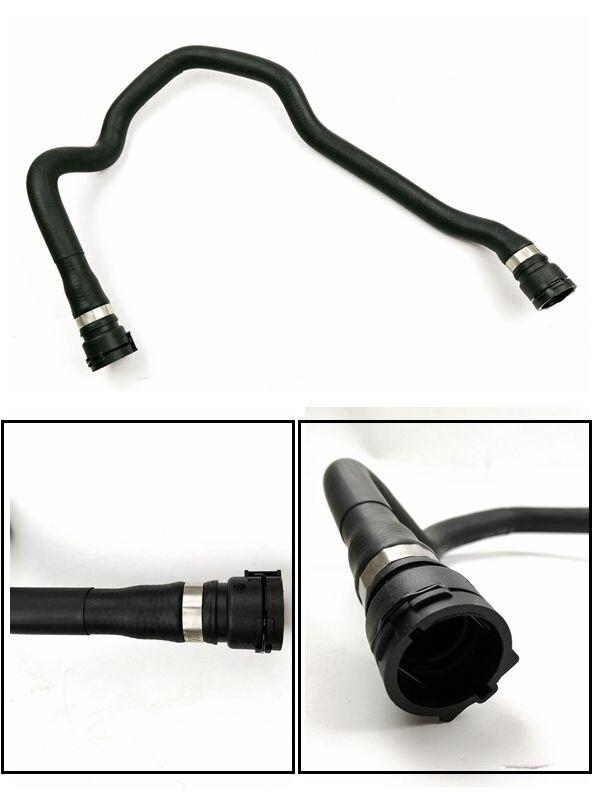 Piezas de repuesto para motor de coche OEM 11531436407, 1 unidad, para BMW E46, manguera superior de goma para radiador, envío gratis