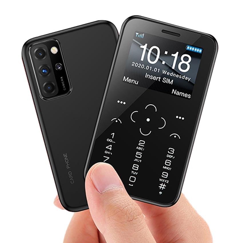 Small Mini Card mobile phone GSM Dual sim unlock Phones mp3 FM Single camera cellphone