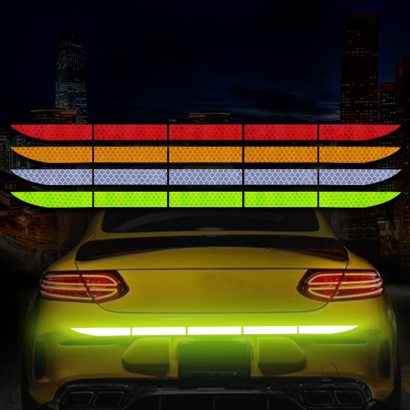 Pegatinas reflectoras para el maletero del coche, para Honda Civic Accord CRV Subaru Forester Outback Impreza
