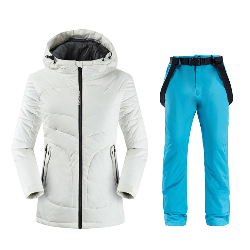 2019 FREE SHIPPING New Female Ski Jacket+Pants Women's Water-proof, Windproof Breathable Snowboard Ski Suits Snowboard Sets
