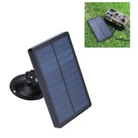 outdoor hunting camera solar panel 1800mah 9v charger for 2g 3g 4g trail camera waterproof solar powered power supply