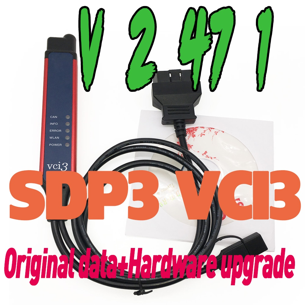 2021 Newest Latest V2.47.1 for Scania VCI-3 VCI3 SDP3 Wifi Scanner Wireless Diagnostic Tool