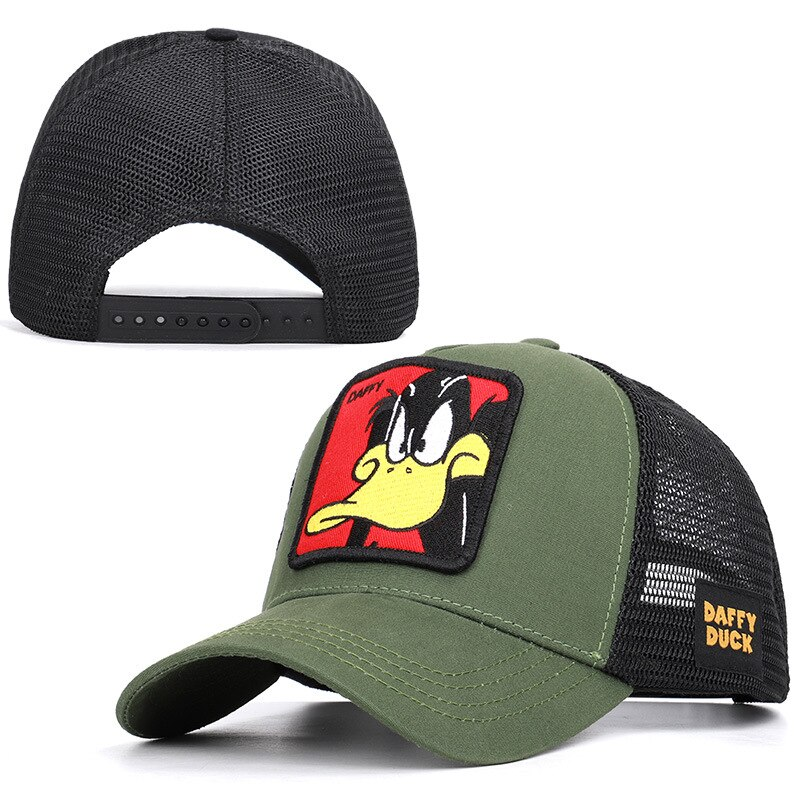 Summer Baseball Cap Embroidery Animal Cotton Men Women Snapback Gorras Trucker Hats Hip Hop Caps