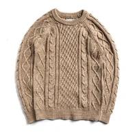 my 0007 read description asian size long sleeve mans 100 cotton autumn winter classic jumper