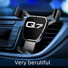 Car Air Outlet-Holder Mobile Phone Car Navigation Mobile Phone holders for phones for Audi Q7 car ac
