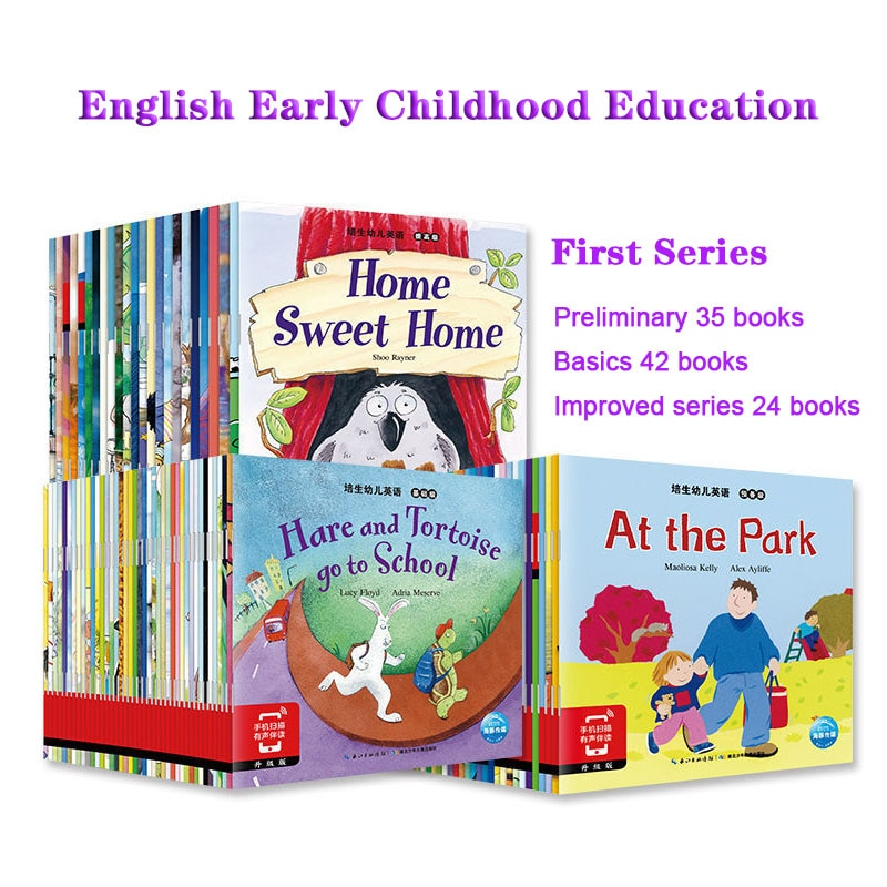 101 Books Preparatory Level Of Children's English Basic Level To Improve The Level Of Livros Early Education Book Baby Comic