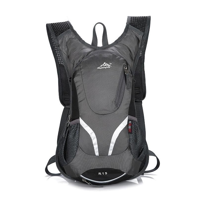 Nueva mochila de nailon para ciclismo de 15L, mochila de nailon para exterior, senderismo, Camping, hidratación, mochila impermeable para ciclismo