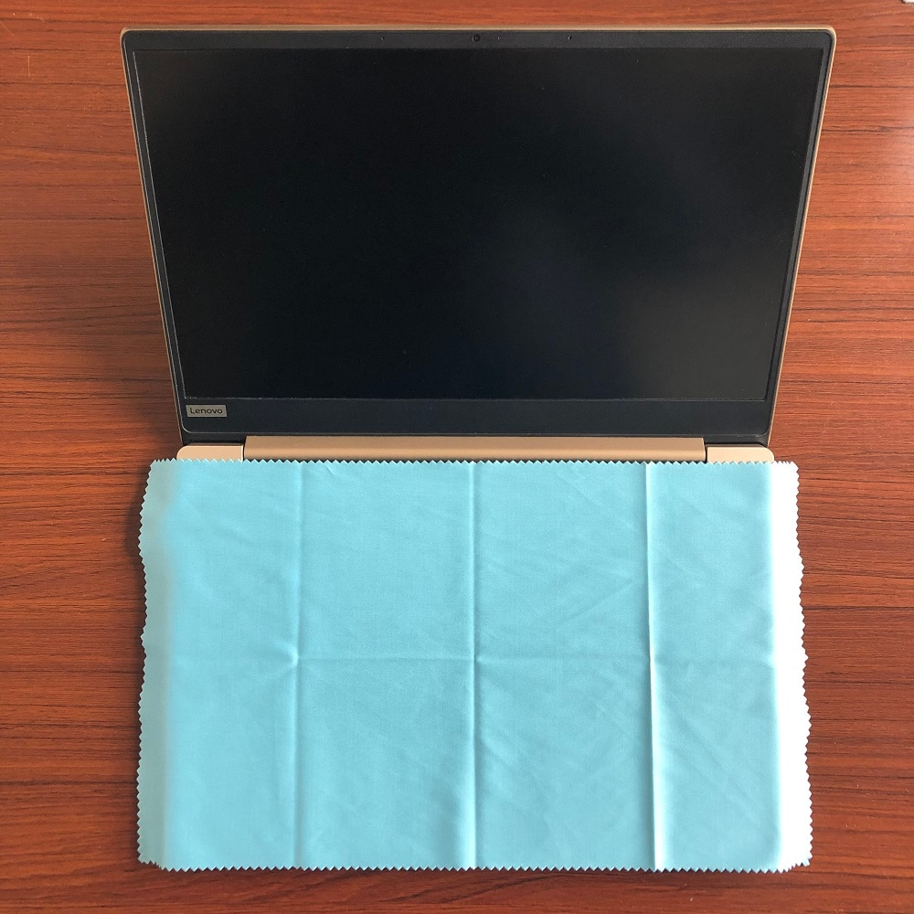 4PCS 20*35cm high quality microfiber dustproof cleaning cloth for notebook keyboard