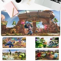 nice zombie plant mouse pad gamer keyboard maus pad desk mouse mat game accessories for overwatch