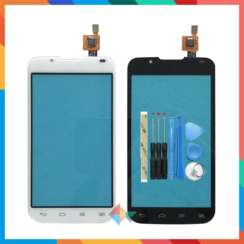 "Hohe Qualität 4.3 ""Für LG Optimus L7 II 2 Dual P715 P716 Touchscreen Digitizer Front Glas Objektiv Sensor panel"