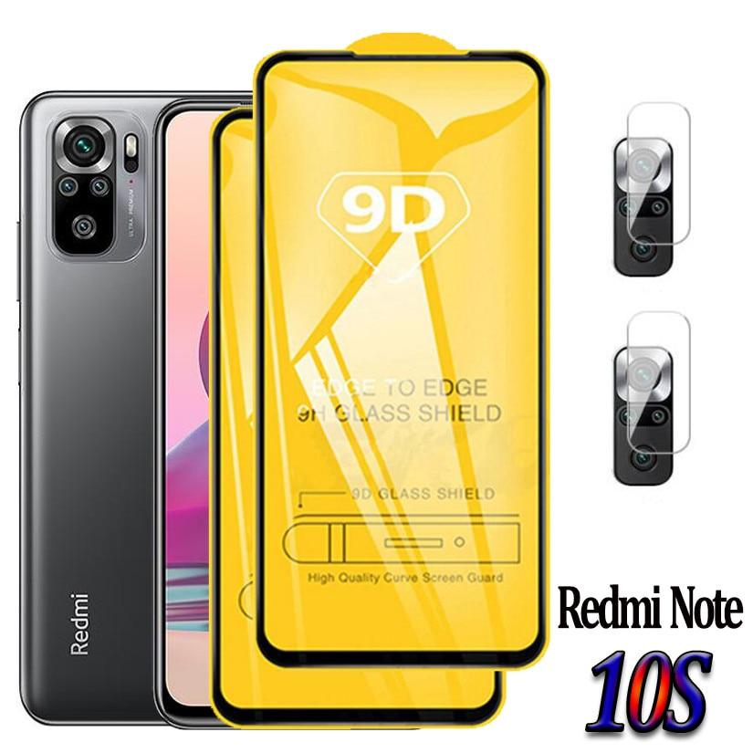 Note10S,Cristal protector para Redmi Note 10S Cristal Templado Redmi Note 10 PRO...