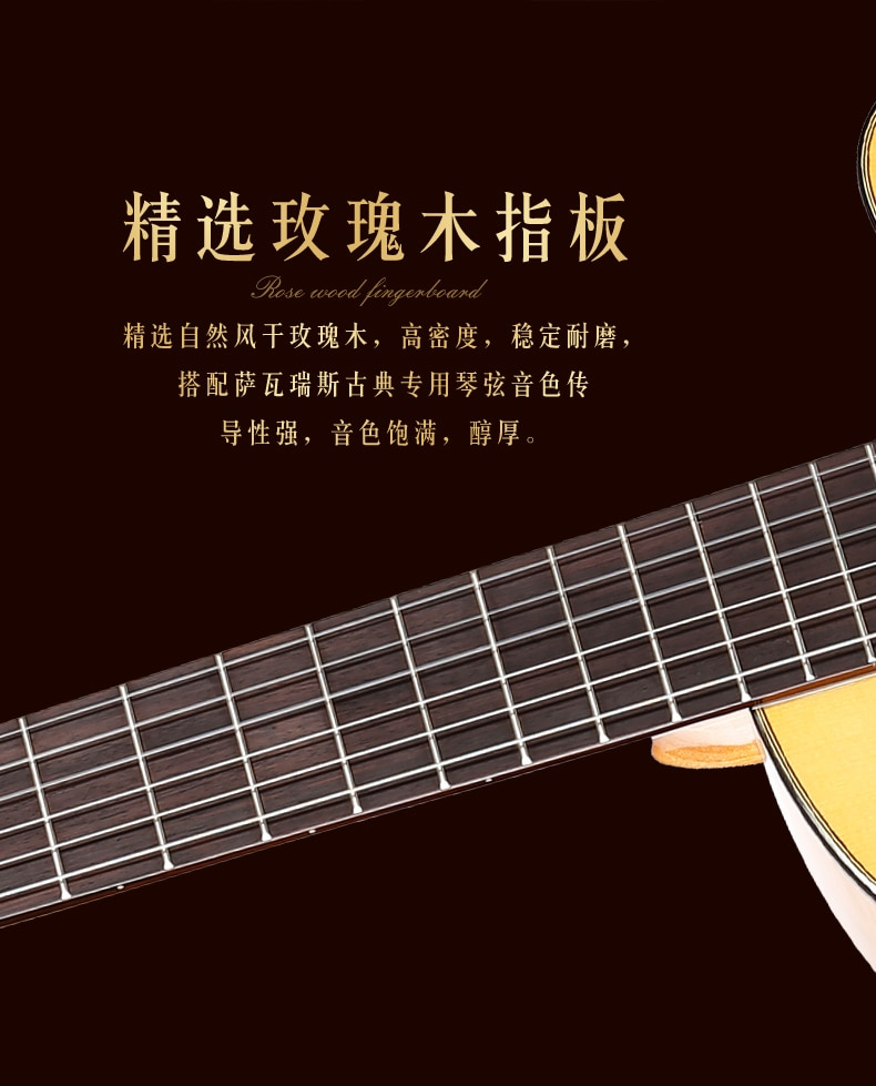 Professional 39 INCH Cutaway Flamenco guitar With Spruce/Aguadze Body +Strings,Classical guitar With nylon strings enlarge