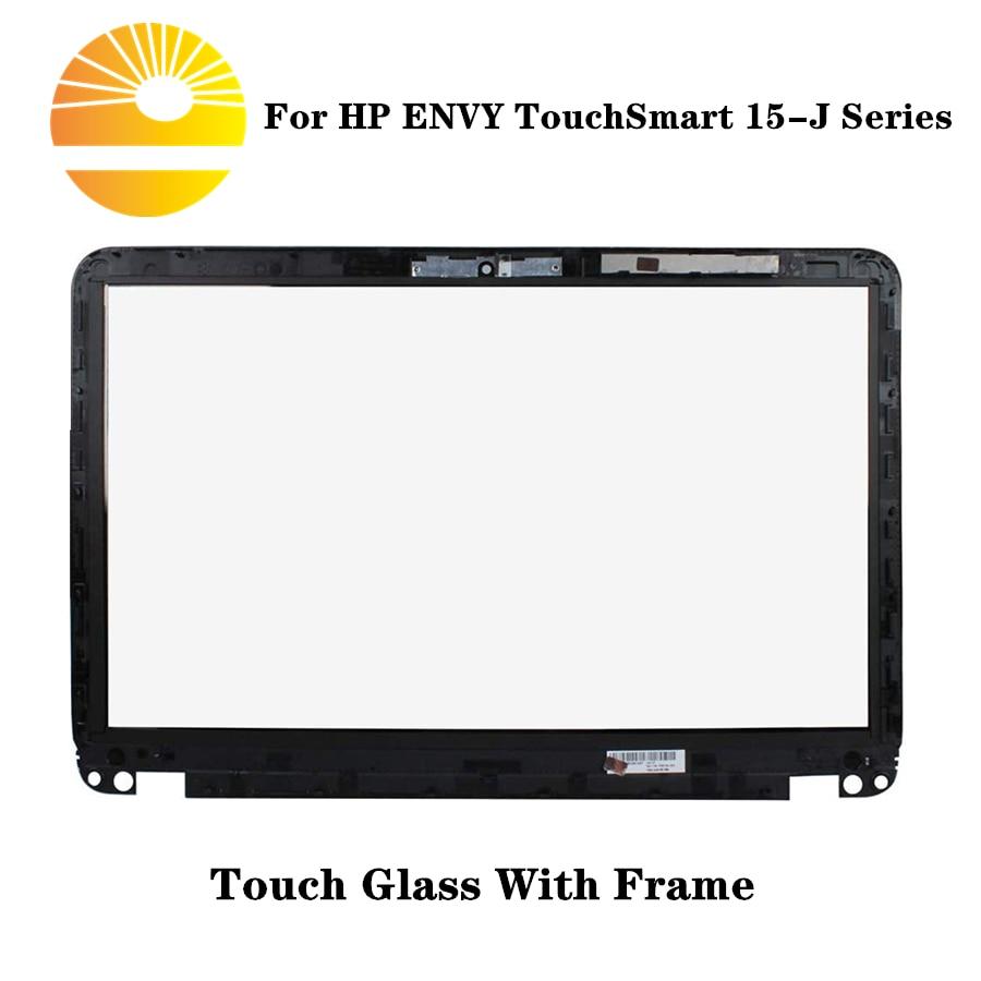 """Reemplazo de cristal del digitalizador de la pantalla táctil de 15,6 """"para HP ENVY TouchSmart 15-J Series (TCP15G06 V1.0) 15-J105US 15-J070US 15-J073CA"""