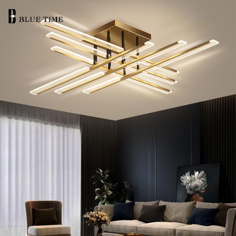 المنزل Led الثريات 110 فولت 220 فولت أضواء الثريا الحديثة ل بهو غرفة المعيشة غرفة نوم غرفة الطعام تركيبات إضاءة داخلية